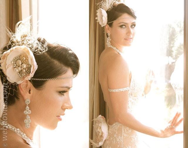 La elección de los pendientes de la novia