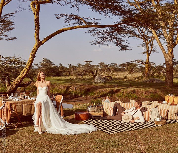 Wild Love in East Africa Pronovias