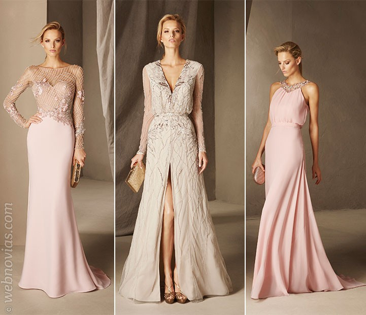 Vestidos de invitada de Pronovias Cocktail 2017