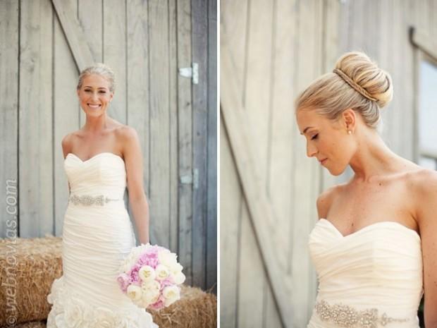 Peinados de novia: Recogido ballet