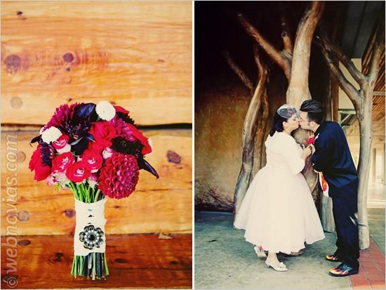 Una boda rockabilly