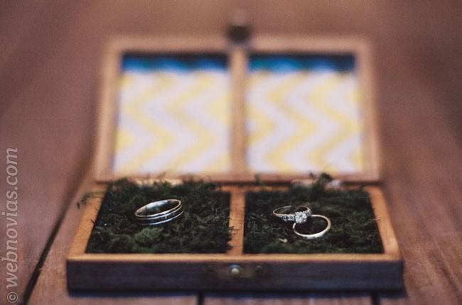 Ideas de porta alianzas para vuestra boda