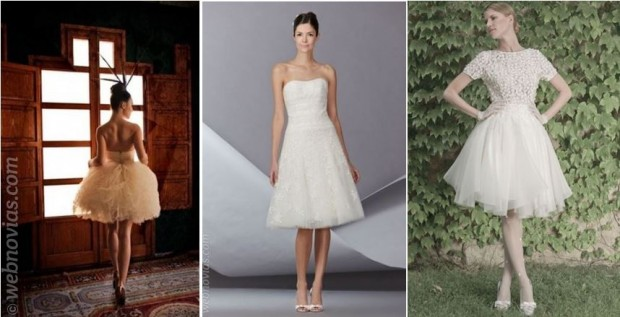 ideas para el segundo vestido de la boda   webnovias