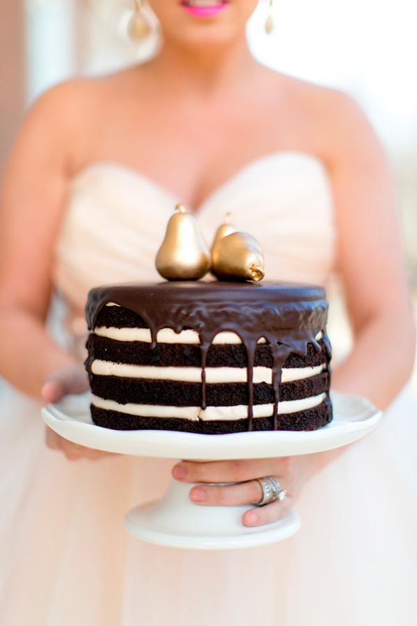 Tartas de boda de chocolate ¡irresistibles!