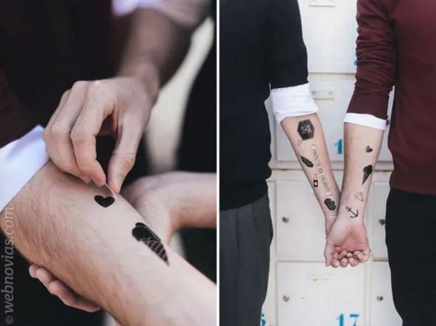 Tatúa a tus invitados en la boda