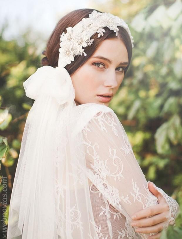 Tocado de novia: cómo elegirlo