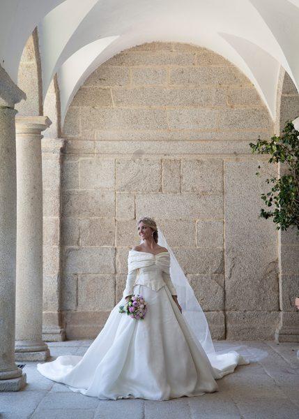Trenza de novia