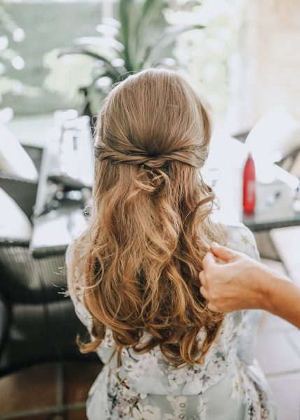 Peinado novia segun escote vestido