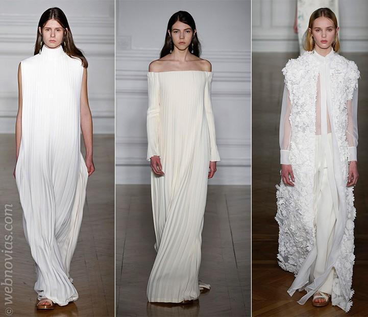 Vestidos Alta Costura primavera-verano 2017 de Valentino