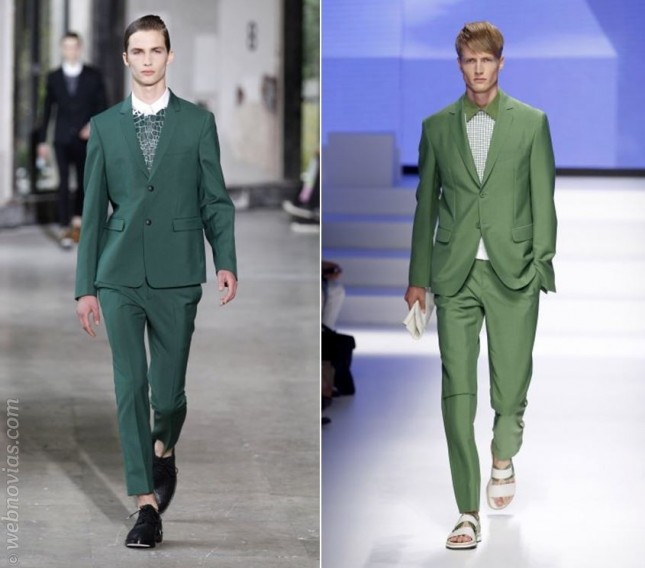 Tendencias de moda masculina 2014