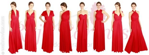 b8d94849d5 El vestido Rojo Carmesí y sus 26 formas