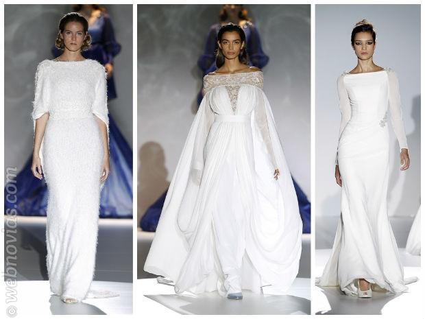 Fotos de vestidos de novia con manga larga