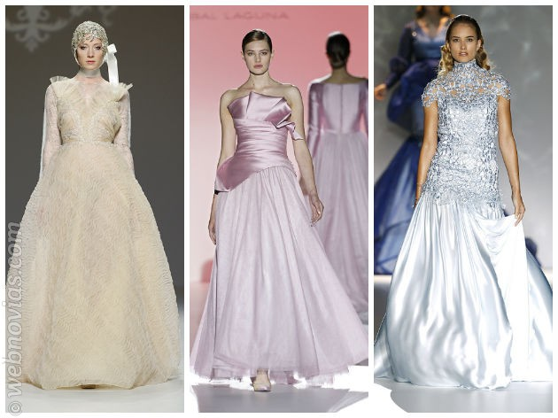 Tendencias Gaudí Novias: A todo color