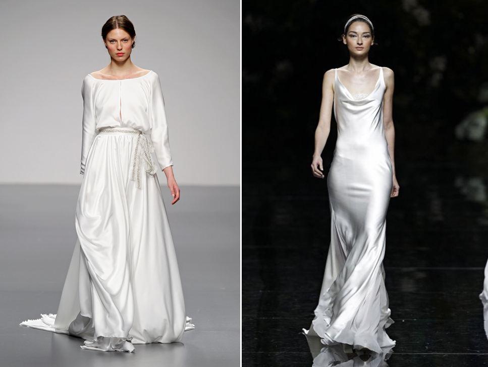 Vestidos de novia lenceros