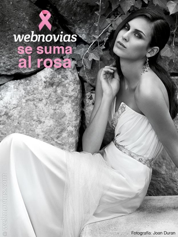 webnovias se suma al rosa
