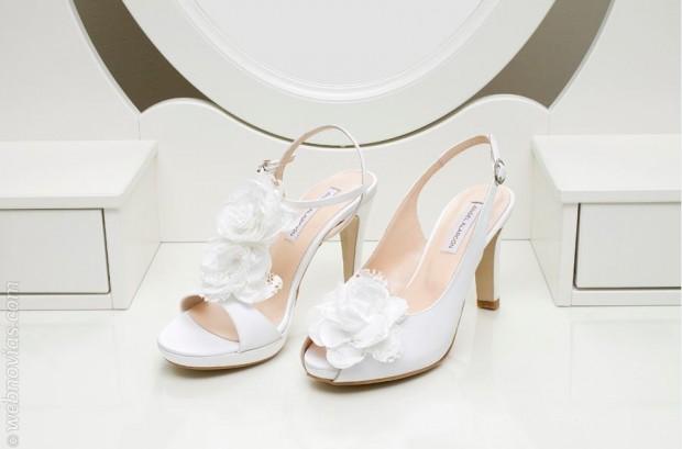 zapatos de novia de Ángel alarcón | webnovias