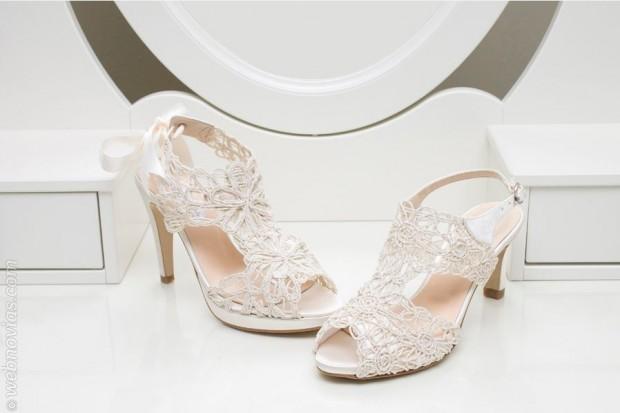 Los zapatos de novia cómodos de Ángel Alarcón
