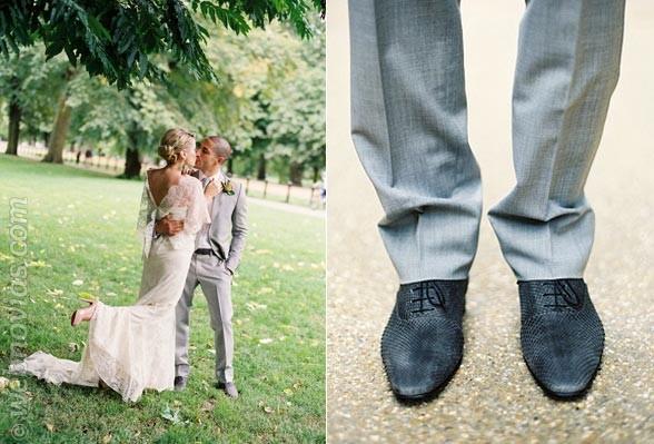 Los zapatos del novio: cómo escogerlos